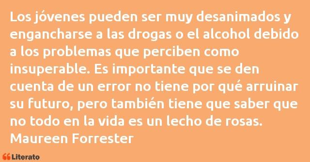Maureen Forrester Los Jóvenes Pueden Ser Muy De