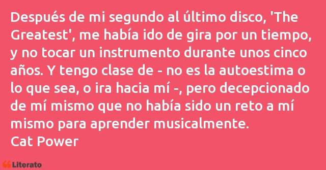 Frases de Cat Power