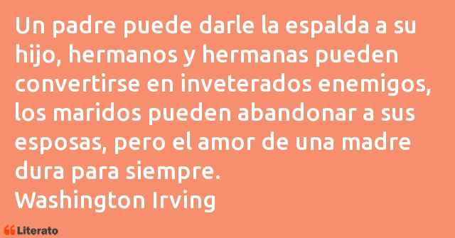 Frases de Washington Irving