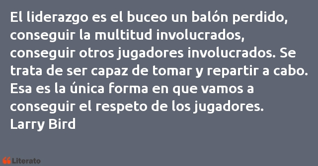 Frases de Larry Bird