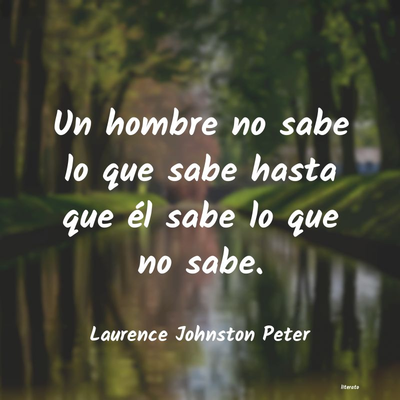 Frases de Laurence Johnston Peter
