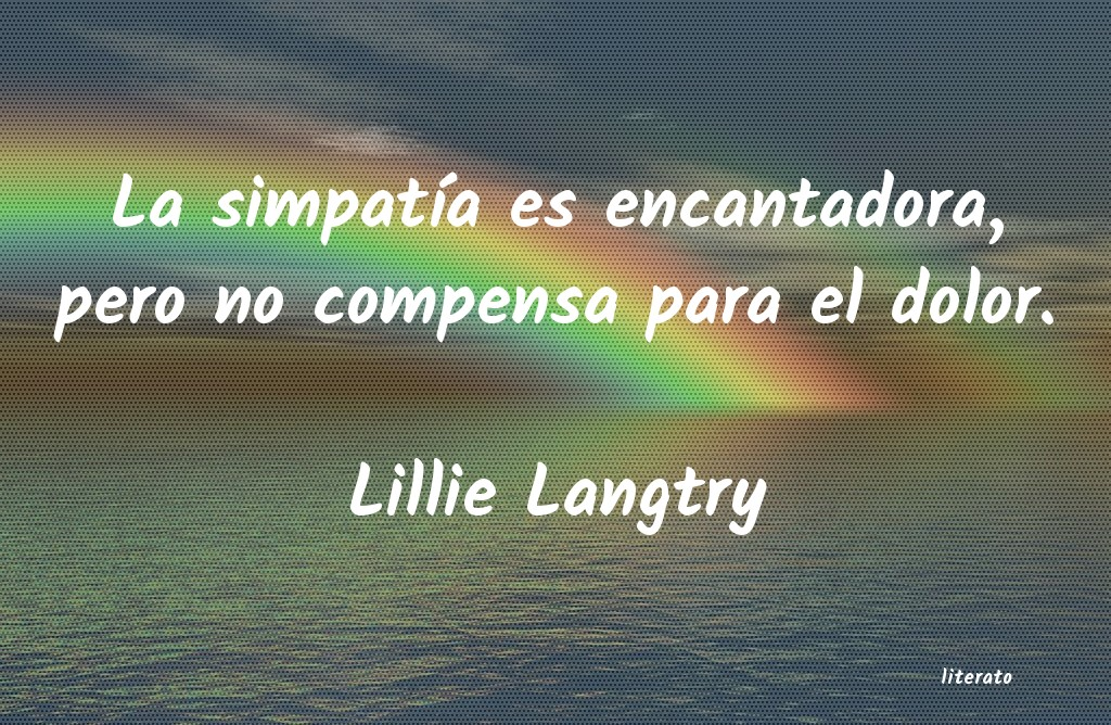 Frases de Lillie Langtry