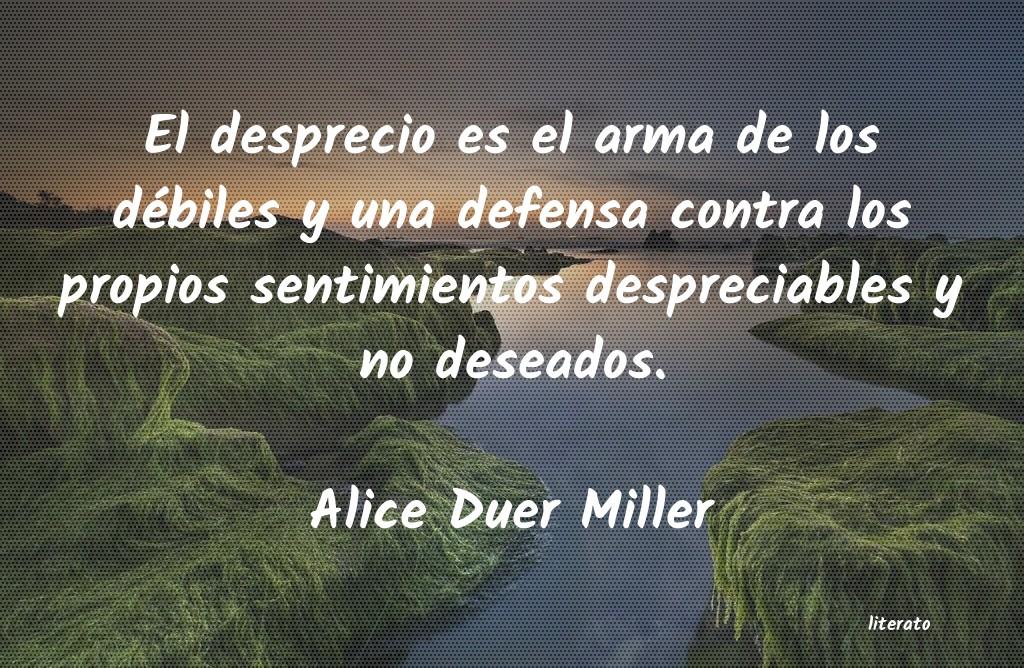 Alice Duer Miller El Desprecio Es El Arma De Los