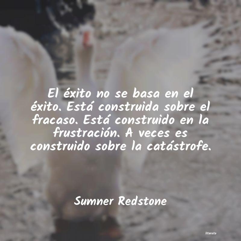 Sumner Redstone El éxito No Se Basa En El éx
