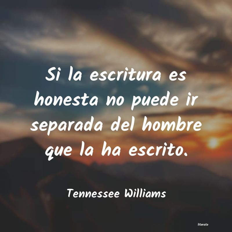 Frases de Tennessee Williams