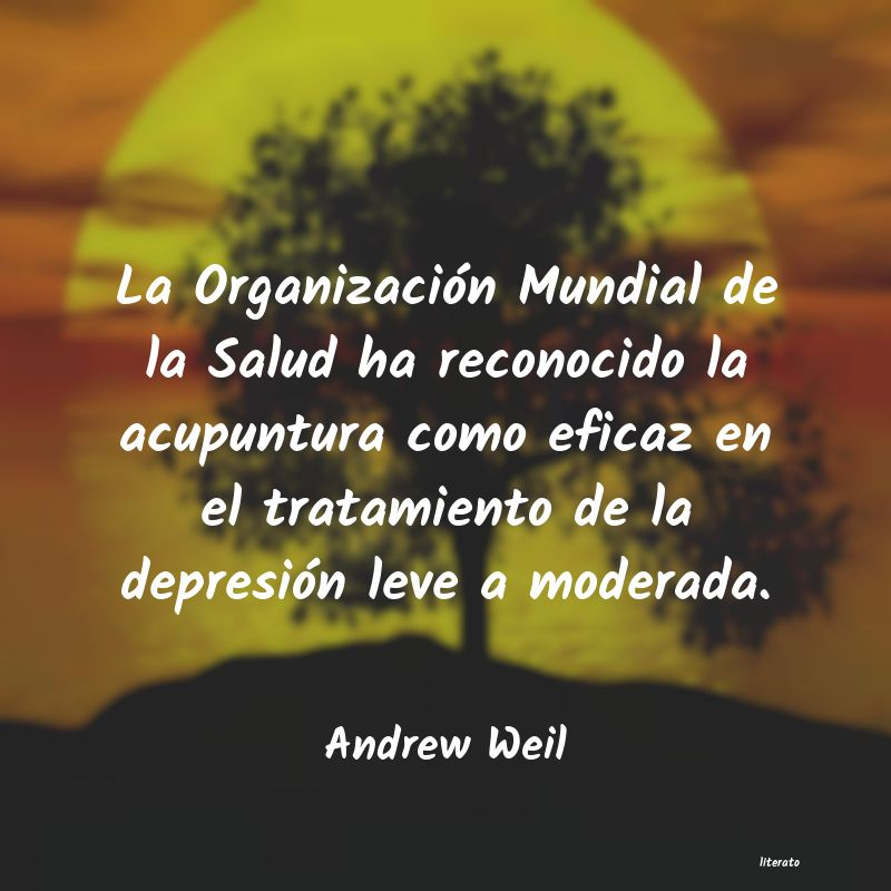 Frases de Andrew Weil