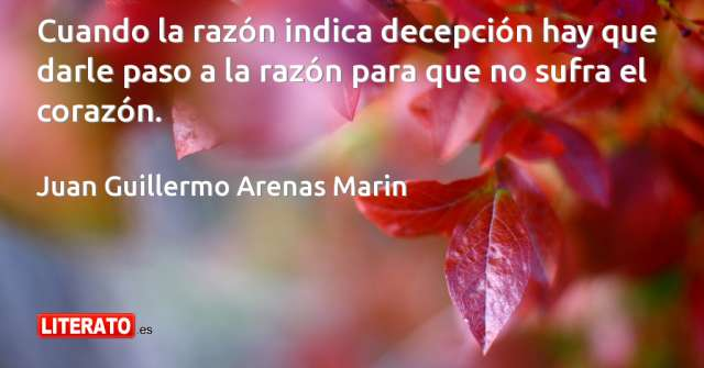 Frases de Juan Guillermo Arenas Marin