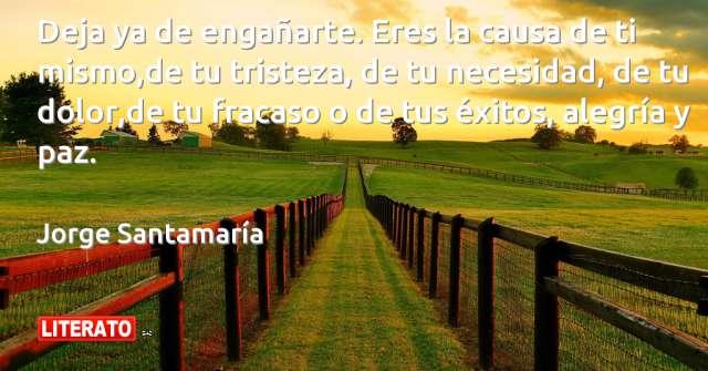 Frases de Jorge Santamaría