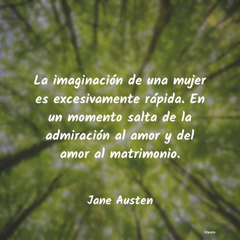 Jane Austen La Imaginación De Una Mujer E