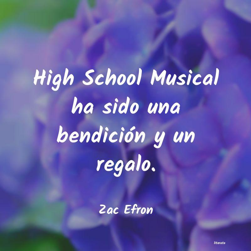 Zac Efron High School Musical Ha Sido Un