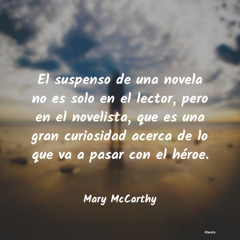 Frases de Mary McCarthy