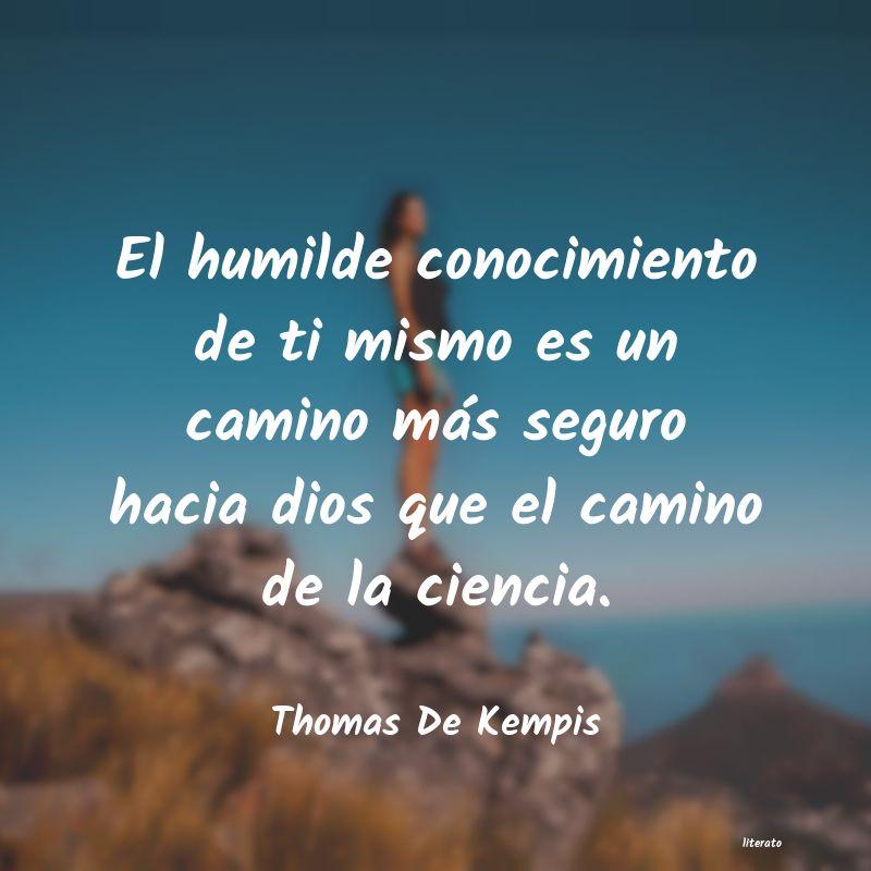 Thomas De Kempis El Humilde Conocimiento De Ti