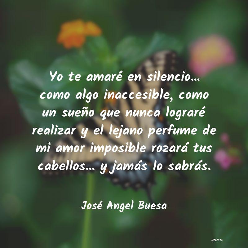 José Angel Buesa Yo Te Amaré En Silencio Co