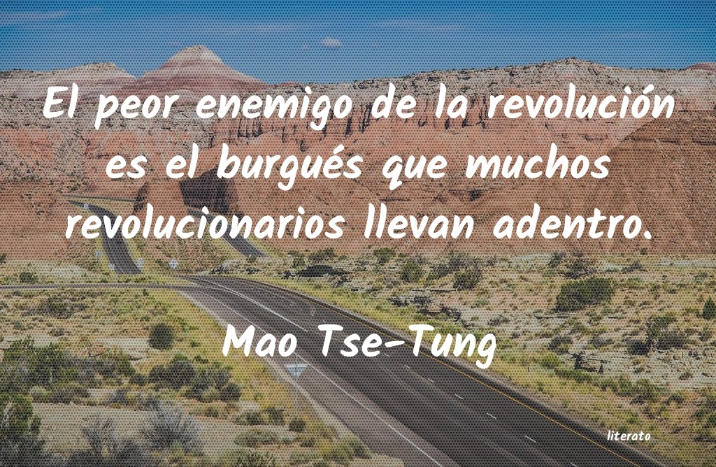 Mao Tse Tung El Peor Enemigo De La Revoluci