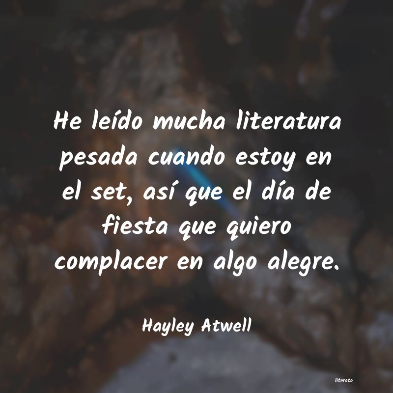 Frases de Hayley Atwell