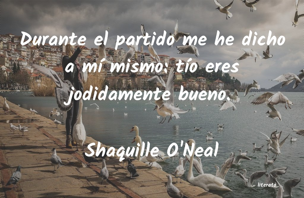 Frases de Shaquille O'Neal