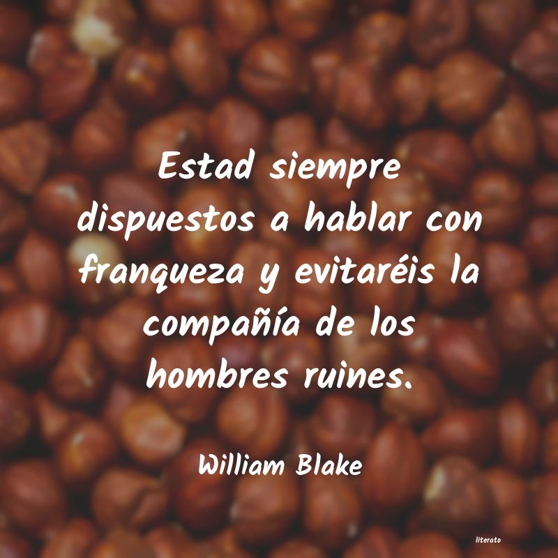 Frases de William Blake