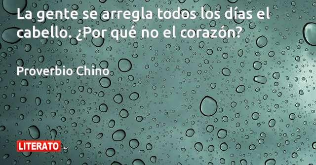Frases de Proverbio Chino