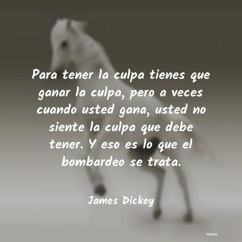 Frases de James Dickey
