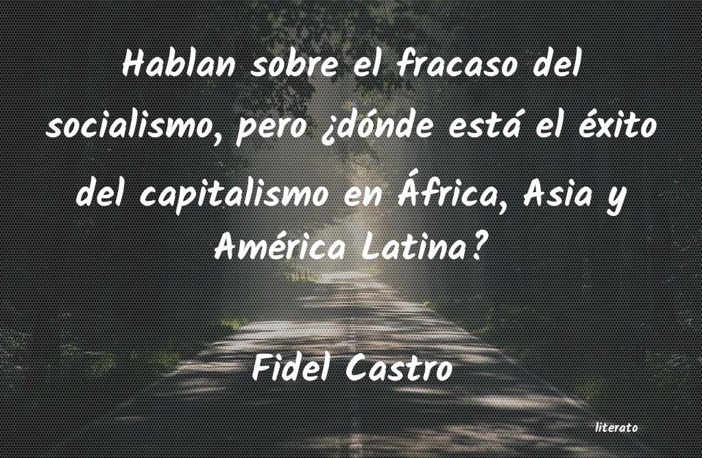 Fidel Castro Hablan Sobre El Fracaso Del So