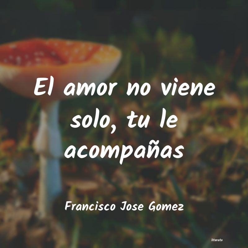 Frases de Francisco Jose Gomez