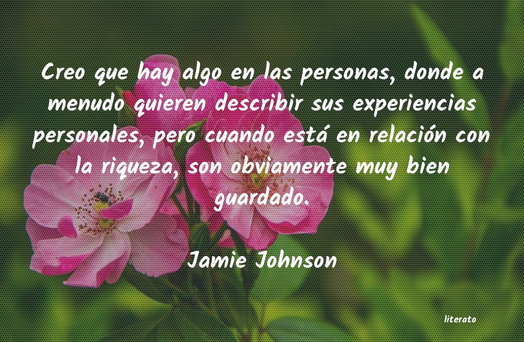 Frases de Jamie Johnson