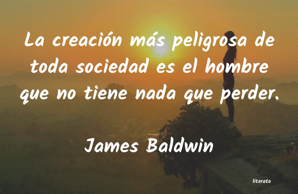 Frases de James Baldwin