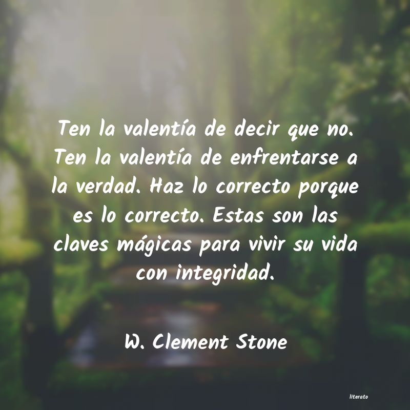 Frases de W. Clement Stone