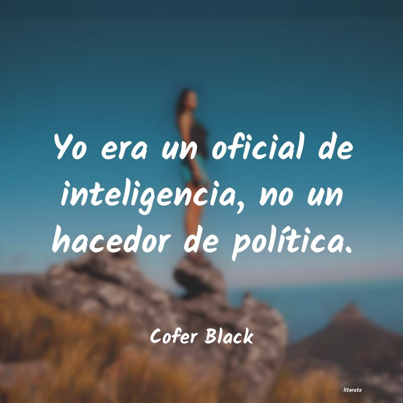 Frases de Cofer Black