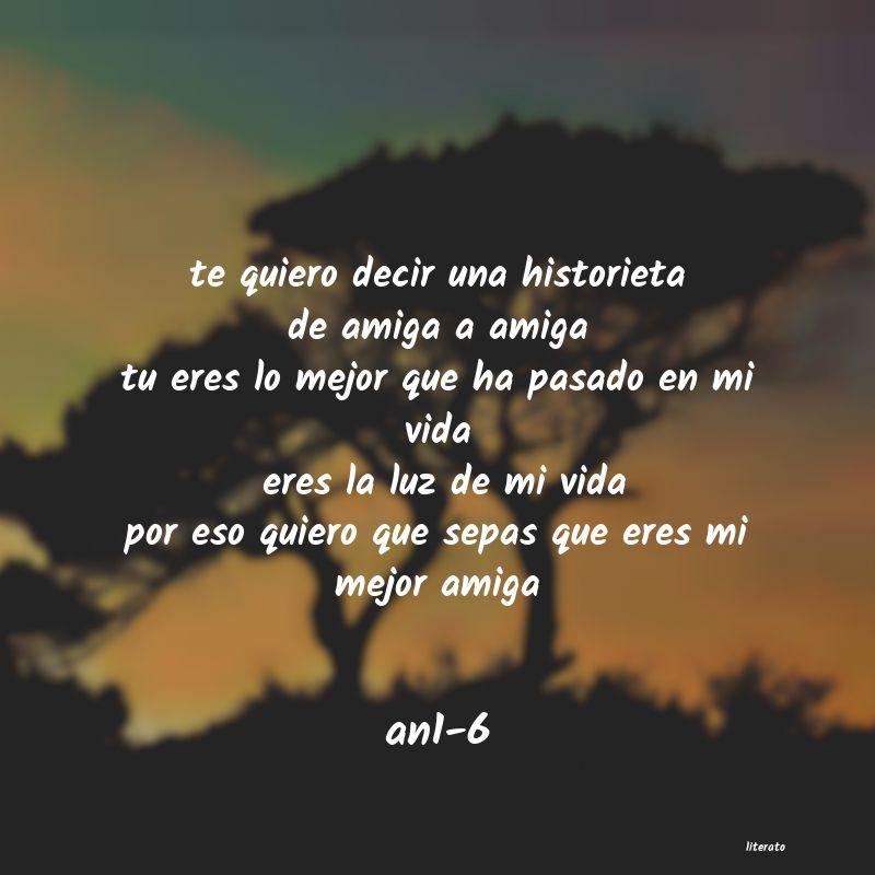 An1 6 Te Quiero Decir Una Historieta