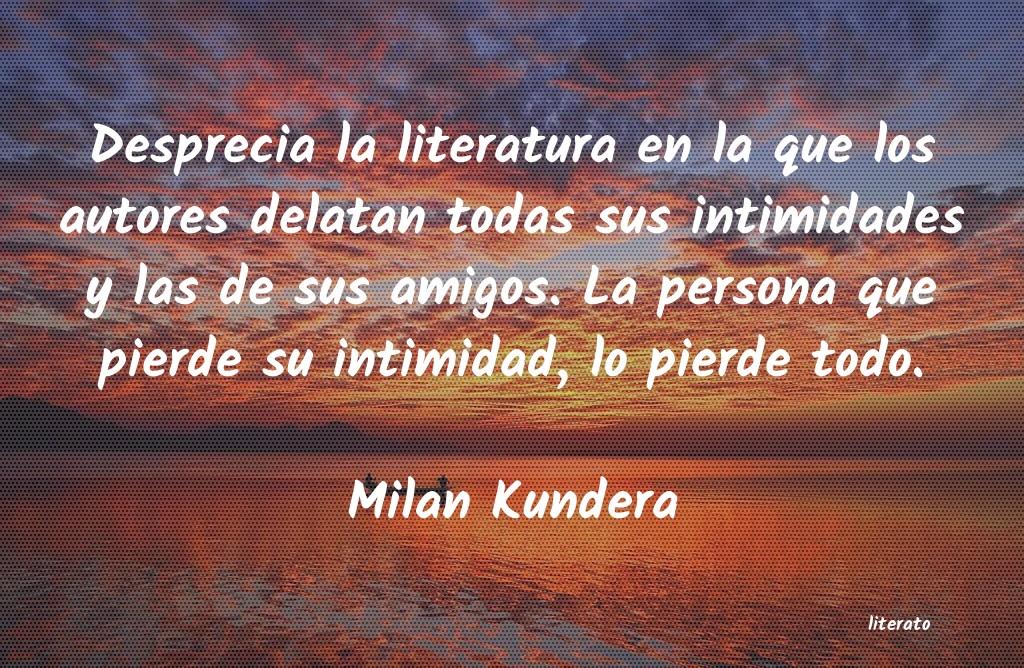 Frases De Intimidad Literato