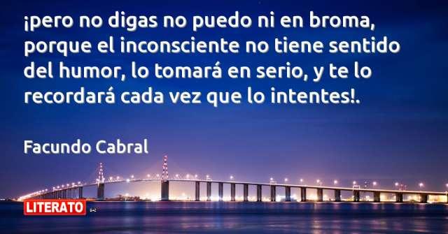 Frases de Facundo Cabral