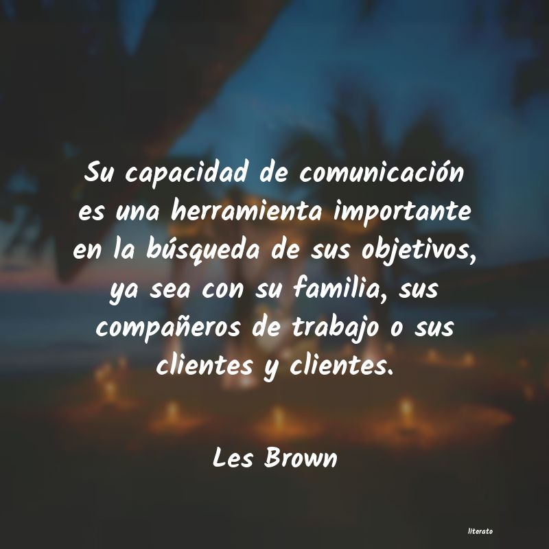 Frases de Les Brown