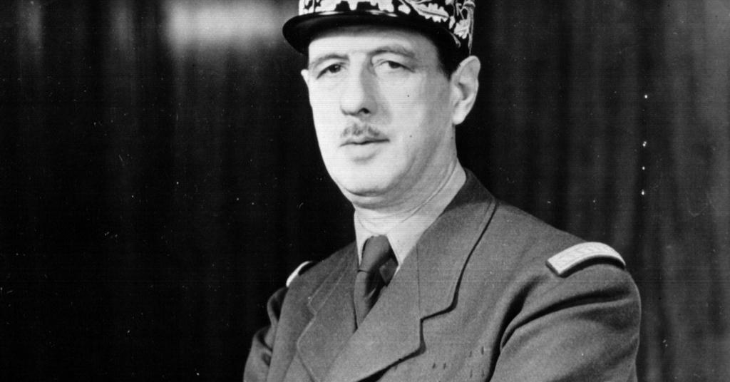 Frases De Charles De Gaulle Literato